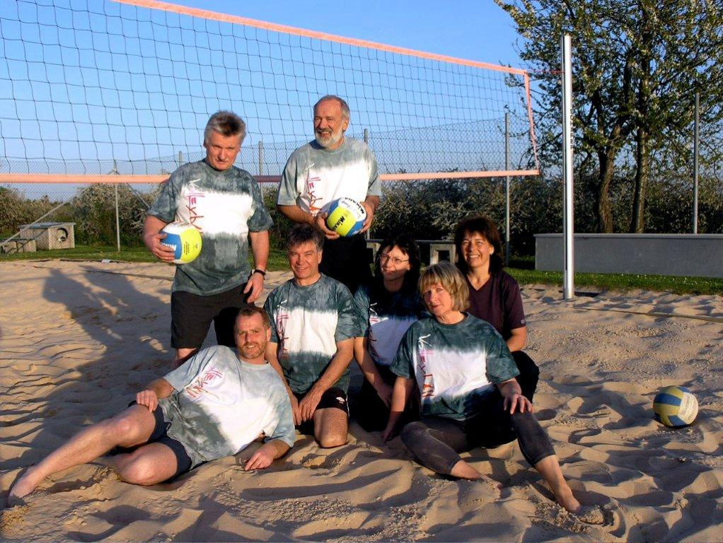 Volleyballgruppe 2007